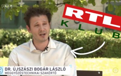 Hogyan tudod megelőzni, hogy átverjenek? RTL Klub – Fókusz riport Dr. Újszászi Bogár Lászlóval